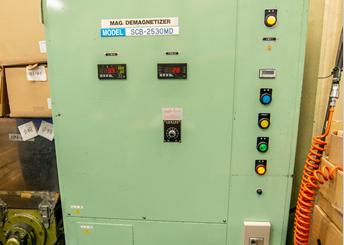 高圧コンデンサー着磁・脱磁電源装置